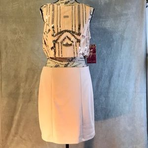 Emerald Sundae New Pink Sequin Bare Midriff Dress